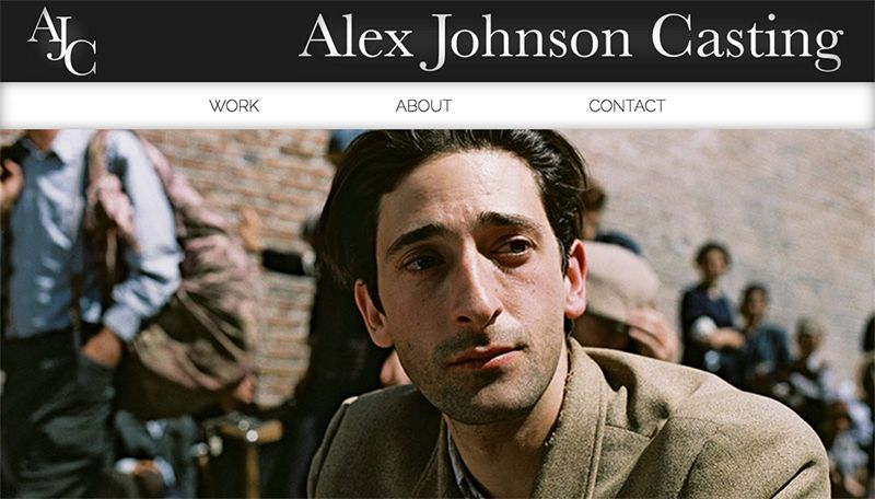 Alex Johnson website screenshot